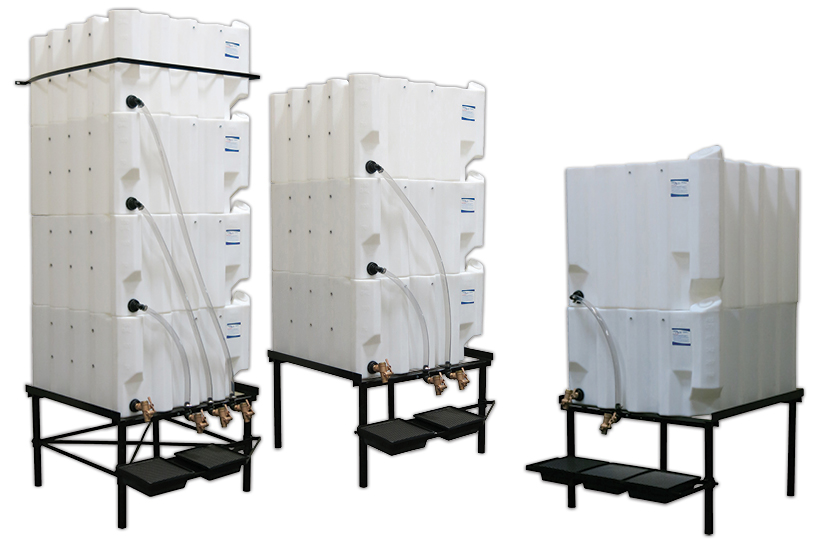 Stackable Tote-A-Lube Storage Tanks by Fluidall are the Original Space-Saving Bulk Fluid Storage and Handling Packages.  sc 1 st  RDI Solutions & Stackable Poly Tanks - RDI Solutions
